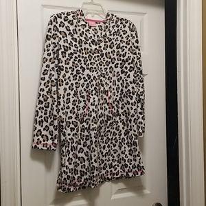 Fleece sleep nightgown